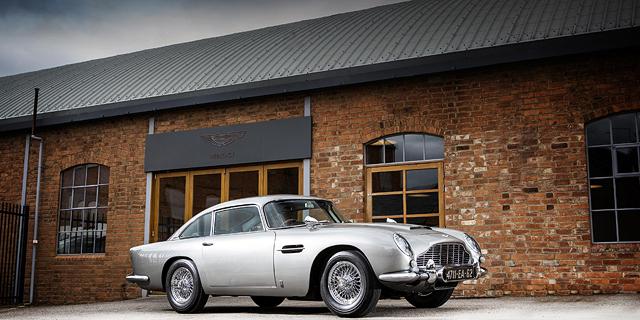 מכונית האסטון מרטין של ג'יימס בונד מוצעת למכירה