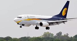 מטוס חברת תעופה ג'ט איירווייז הודו Jet Airways, צילום: NDTV