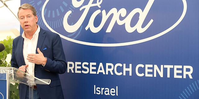 """ביל פורד מנכ""""ל פורד , צילום: תומריקו"""