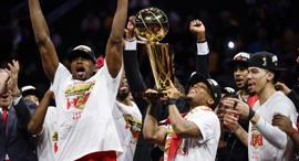 טורונטו רפטורס אליפות NBA, צילום: איי פי