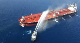 מכלית הנפט הנורבגית שהותקפה בשבוע שעבר, צילום: אי.אף.פי