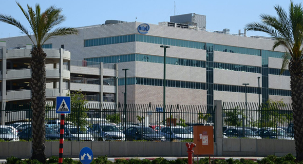 Intel's Kiryat Gat facility. Photo: Herzl Yosef