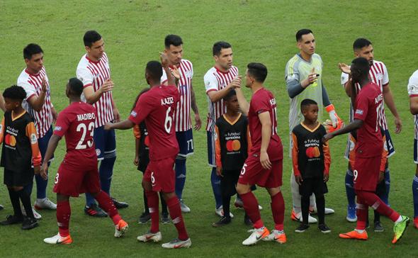 קטאר נגד פרגוואי בקופה אמריקה 2019