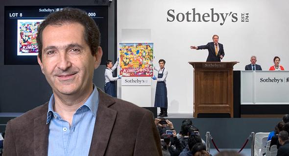 פטריק דרהי, על רקע בית המכירות הפומביות סותבי'ס
