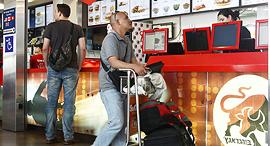 """סניף בורגראנץ' ב טרמינל 3 נתב""""ג, צילום: אוראל כהן"""