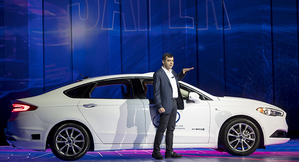 Mobileye CEO Amnon Shashua. Photo: Bloomberg