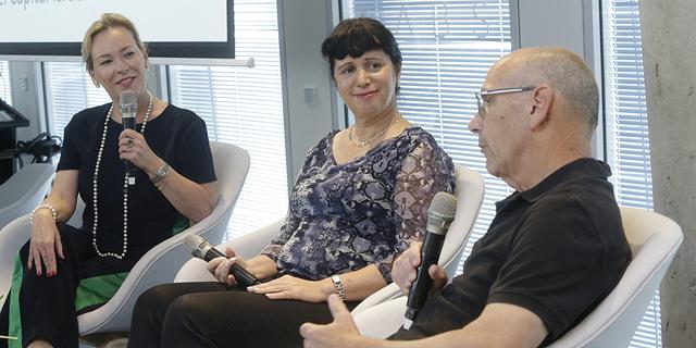 מימין: יאיר שוהם, רותי אדר וג