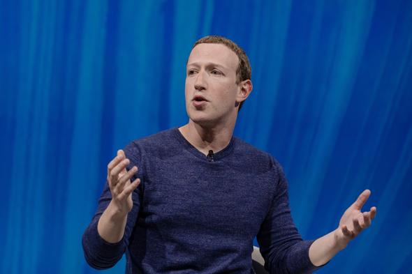 """מנכ""""ל פייסבוק, מארק צוקרברג, צילום: בלומברג"""