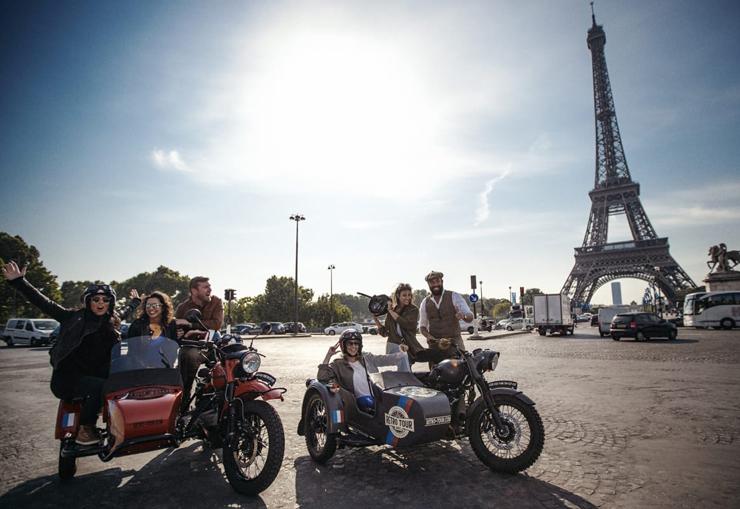 במקום ה-6: אופנועים עם סירה בפריז, צילום: mariages.net