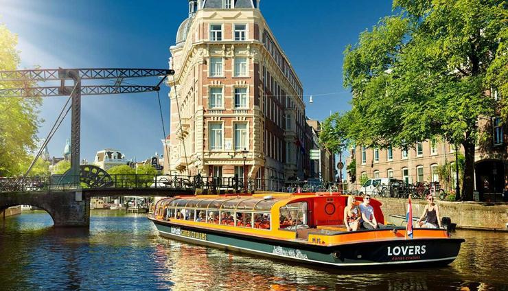 אמסטרדם, הולנד. במקום הרביעי, צילום: amsterdamcitytours