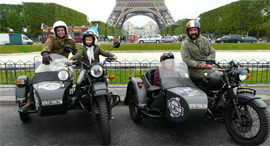 סיור אופנועים פריז סיורים מאורגנים, צילום: lagazettedhector.fr
