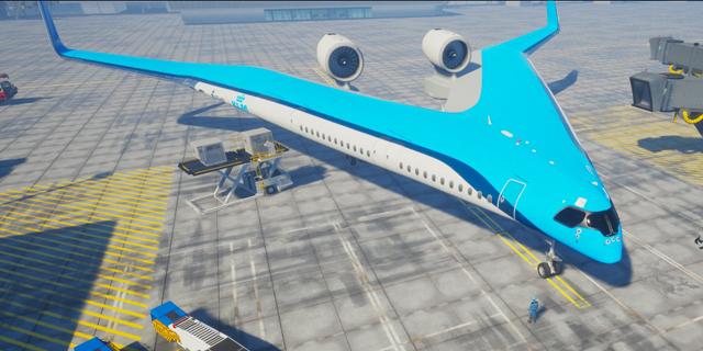 מטוס הגיטרה של KLM: ימריא או יישאר על שולחן השרטוט?