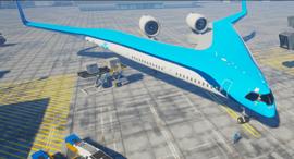 Flying V, צילום: tudelft.nl