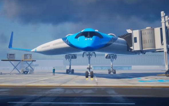 Flying V מן החזית