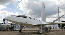 מטוס חשמלי חברת אוויאשן Eviation הישראלית, צילום: רויטרס