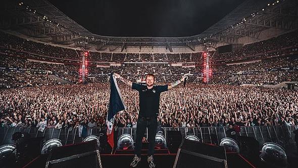 הופעה של אד שירן בברצלונה ב-2019, צילום: Instagram, Ed Sheeran