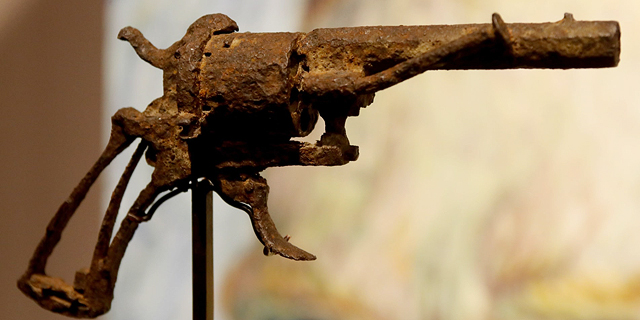 הנשק המפורסם בעולם האמנות: האקדח שאיתו התאבד ואן-גוך נמכר ב-183 אלף דולר