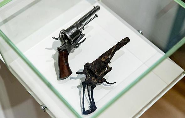 דגם האקדח, צילום: גטי אימג