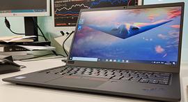 ThinkPad X1 Carbon 2019 לפטופ לנובו 1, צילום: ניצן סדן