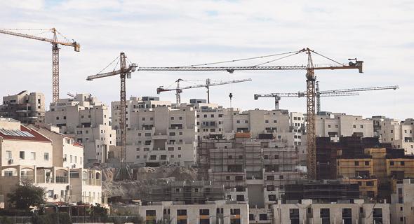 """בנייה בבית שמש. ההערכה היא כי 10% מהזוכים אינם """"תואמים"""" את אופי השכונה"""
