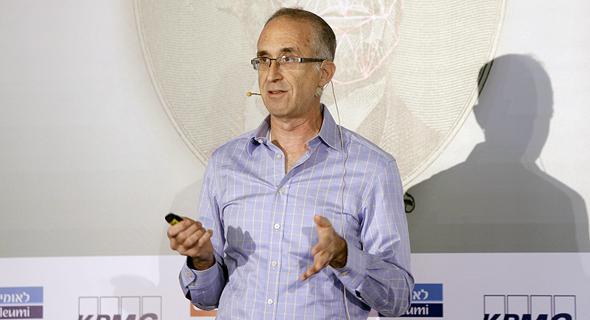 """אלי רזין, מנכ""""ל ומייסד CrediFi, בכנס, צילום: עמית שעל"""