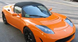 לארי פייג'  סרגיי ברין גוגל טסלה רודסטאר מכוניות מיליארדרים, צילום: ויקיפדיה