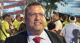 """ראש העיר ירושלים משה לאון זירת הנדל""""ן, צילום: דוברות עיריית ירושלים"""