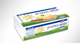 חמאה של המותג הפרטי של שופרסל. מחיר מקסימלי של 3.8 שקלים ל־100 גרםֿ, צילום: דני לרנר