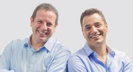 מימין: דרור פלדהיים ויואל בר אל, מייסדי טראקס, צילום: יחצ