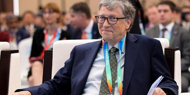 ביל גייטס מייסד מיקרוסופט יוני 2019, צילום: גטי
