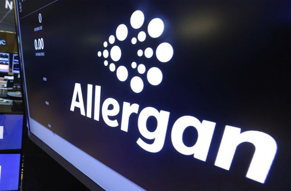 Allergan. Photo: AP