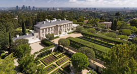 אחוזת צ'ארטוול Chartwell  בל אייר לוס אנג'לס הכי יקר , צילום: Hilton and Hyland