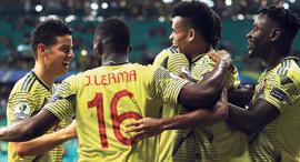 נבחרת קולומביה, צילום: Luisa Gonzalez