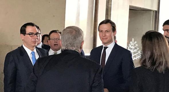 קושנר בעת פתיחת הוועידה בבחריין