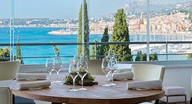 מסעדה Mirazur הריביירה הצרפתית מקום ראשון המסעדות הטובות 2019, צילום: Mirazur