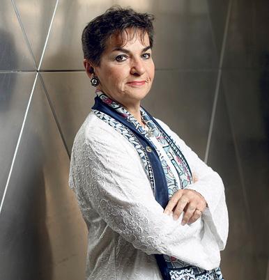 """מוסף שבועי 27.6.19 כריסטינה פיגרס יושבת ראש אמנת המסגרת של האו""""ם לשינוי האקלים, צילום: עמית שעל"""