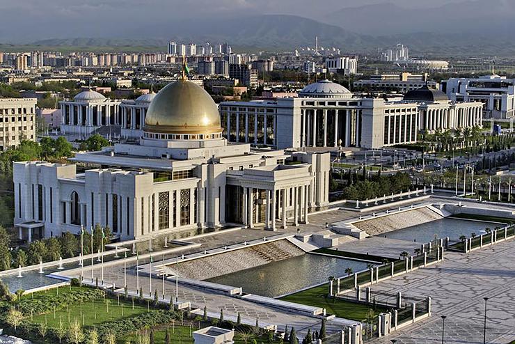 במקום ה-8: אשגבאט, טורקמניסטן, צילום: shutterstock