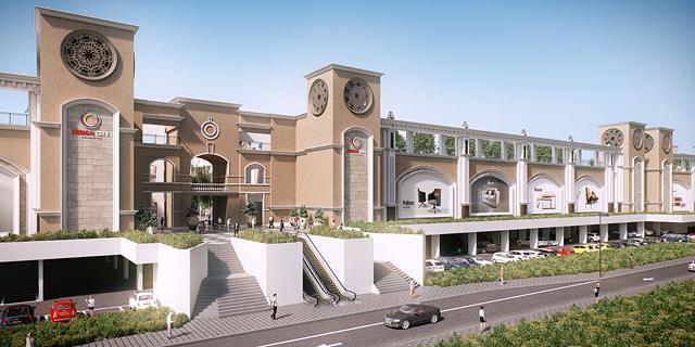 """פרויקט דיזיין סיטי הדמייה זירת הנדל""""ן , הדמיה:3DVISION , באדיבות דיזיין סיטי"""