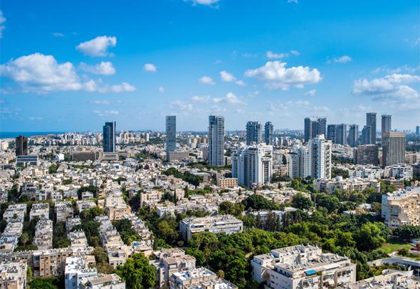 Tel Aviv. Photo: Shutterstock
