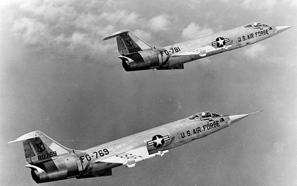 ה-F104 סטארפייטר, מטוס הקרב האחרון שפיתחה לוקהיד בעצמה לפני ATF