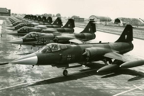 ליין מטוסי סטארפייטר מדגם G, בגרמניה