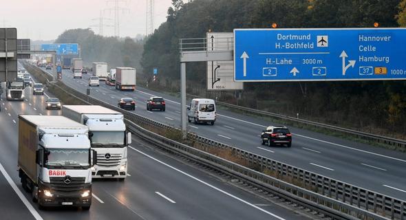כביש מהיר בגרמניה, צילום: גטי