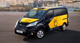 ניסאן NV200 מונית חשמלית, צילום: יצרן