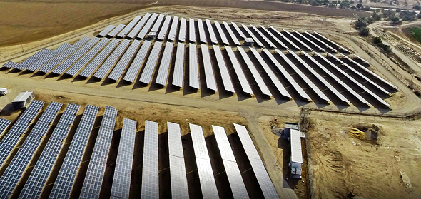 Solar fields, Israel. Photo: Enlight Renewable Energy Ltd.