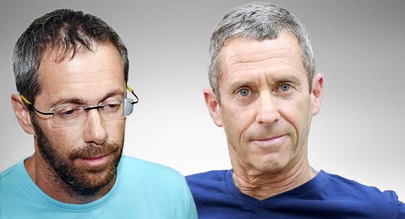 מימין בני שטיינמץ ו טל זילברשטיין 27.6.19, צילום: דנה קופל, יאיר שגיא