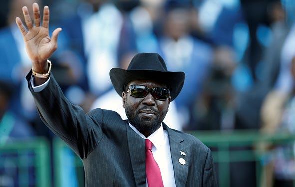 נשיא דרום סודן סאלווה קיר מאיארדיט, צילום: רויטרס