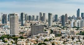 תל אביב מבט מעל זירת הנדלן, צילום: Shutterstock