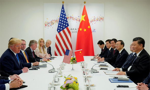 """משלחות סין ו ארה""""ב לשיחות הסחר מלחמת סחר פסגת G20, צילום: רויטרס"""