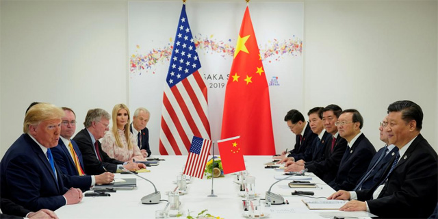 שתי המשלחות בפסגת ה-G20, צילום: רויטרס