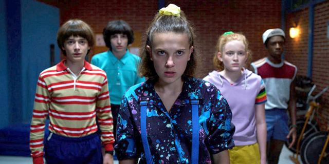 """מתוך הסדרה """"דברים מוזרים"""" של נטפליקס, צילום: Netflix"""